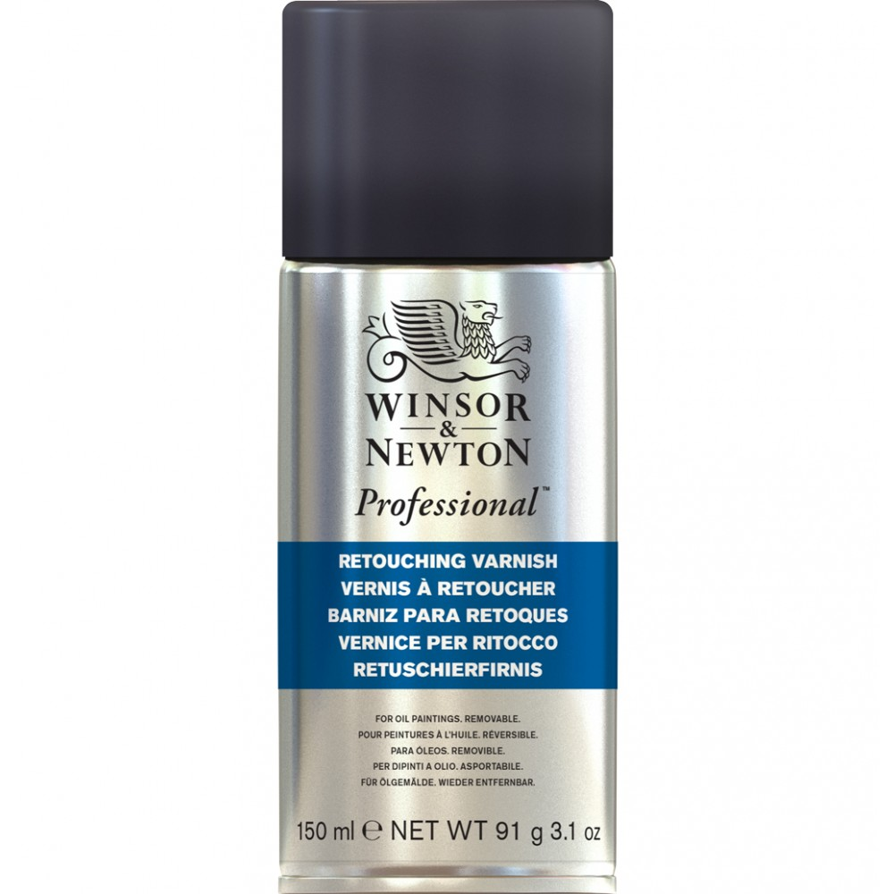 Winsor & Newton : Retouching Spray Varnish : 150ml : By Road Parcel Only