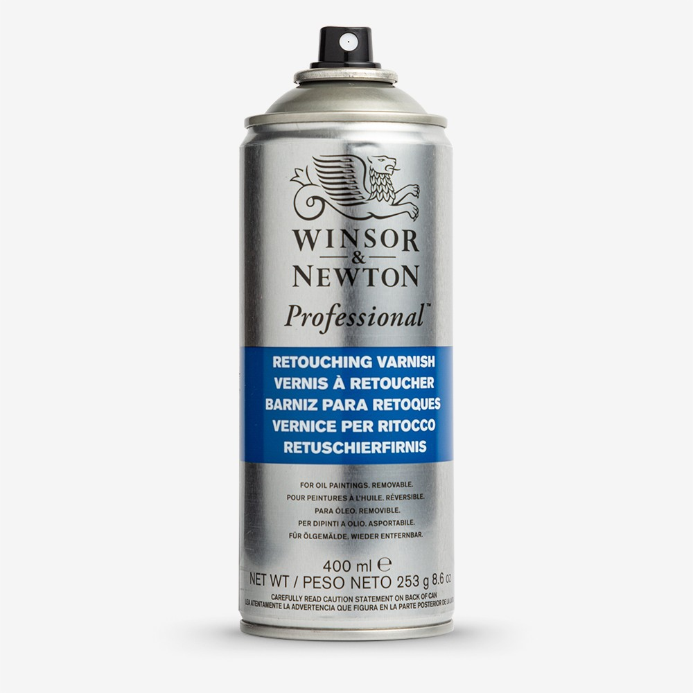 Winsor & Newton : Retouching Spray Varnish : 400ml : By Road Parcel Only