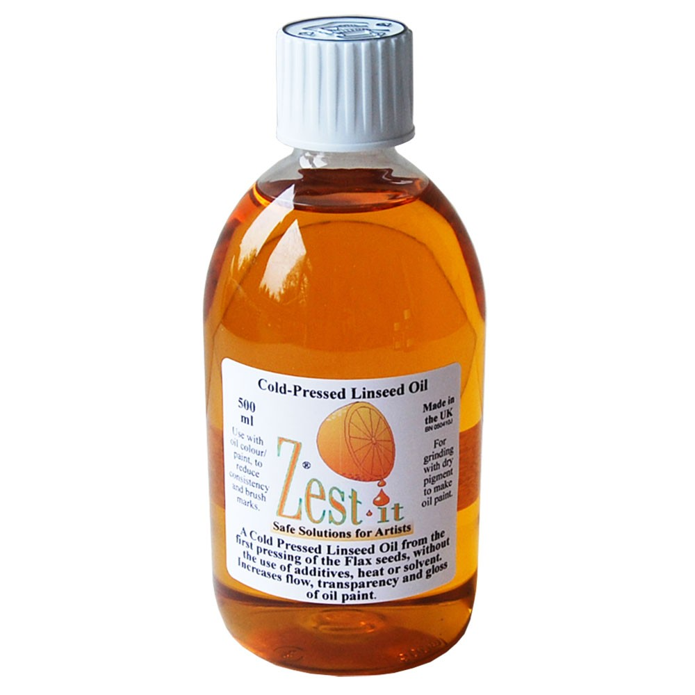 Zest-It : Cold Pressed Linseed Oil : 500ml