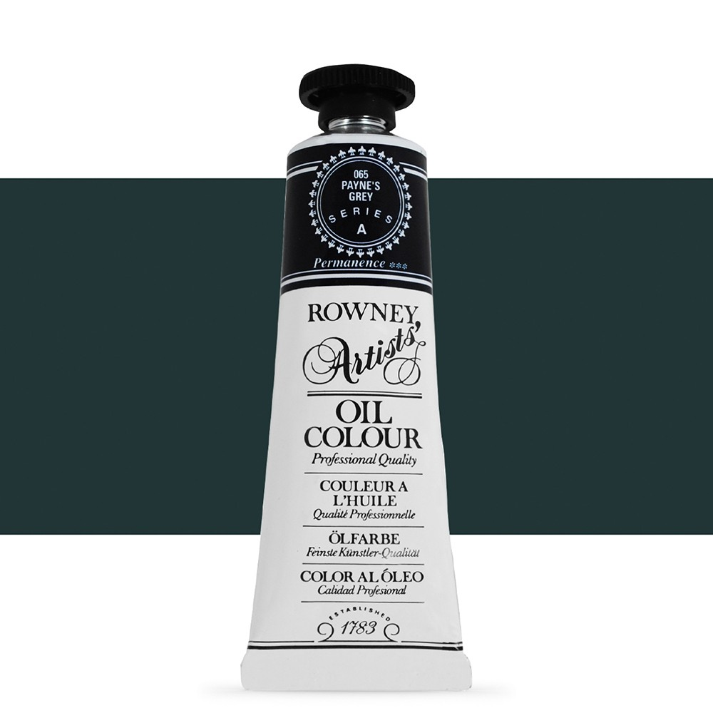 Daler Rowney : Artists' Oil Paint : 38ml : Paynes Grey