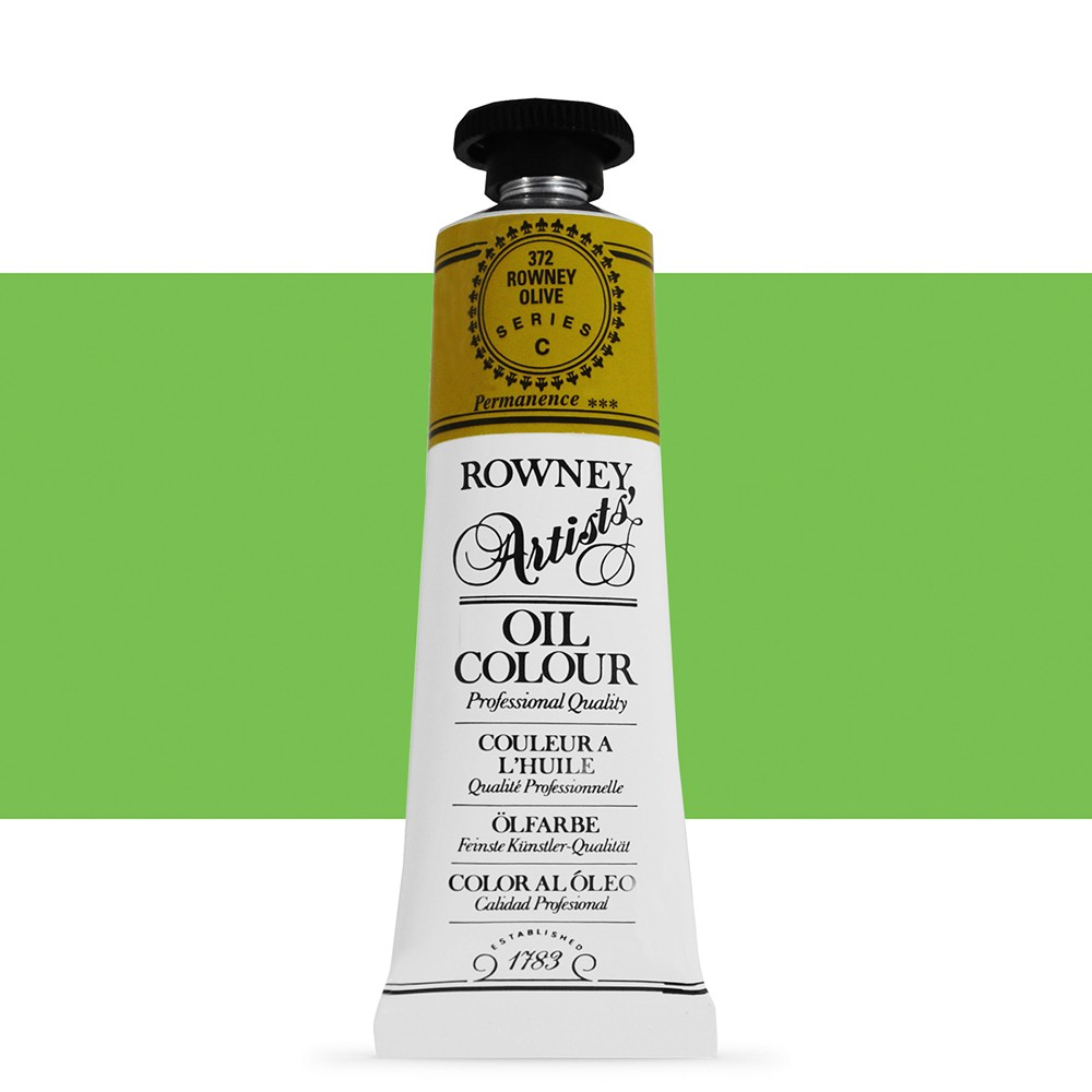Daler Rowney : Artists' Oil Paint : 38ml : Rowney : Olive