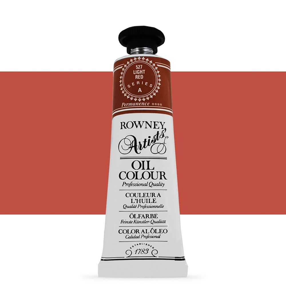 Daler Rowney : Artists' Oil Paint : 38ml : Light Red