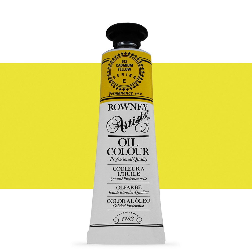 Daler Rowney : Artists' Oil Paint : 38ml : Cadmium Yellow
