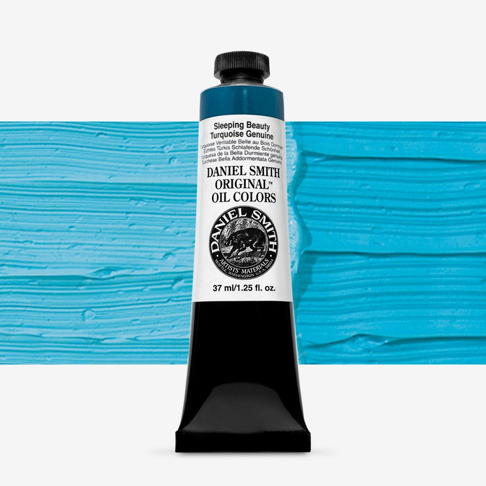 Daniel Smith : Original Oil Paint : 37ml : Sleeping Beauty Turquoise Genuine