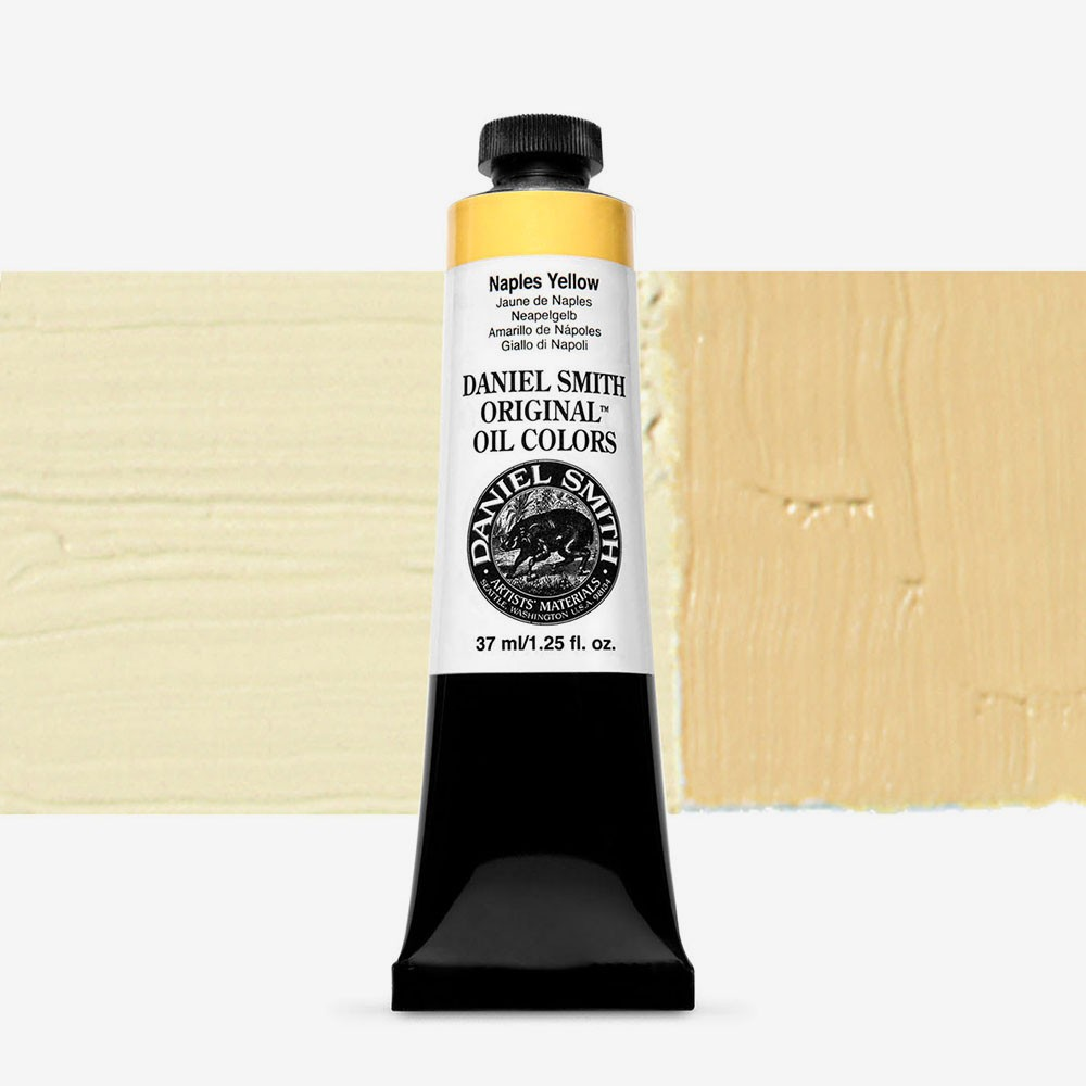 Daniel Smith : Original Oil Paint : 37ml : Naples Yellow