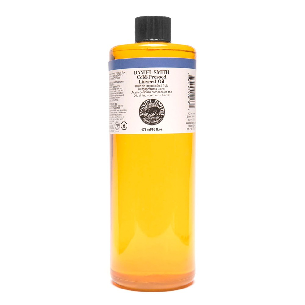 Daniel Smith : Cold-Pressed Linseed Oil : 473ml