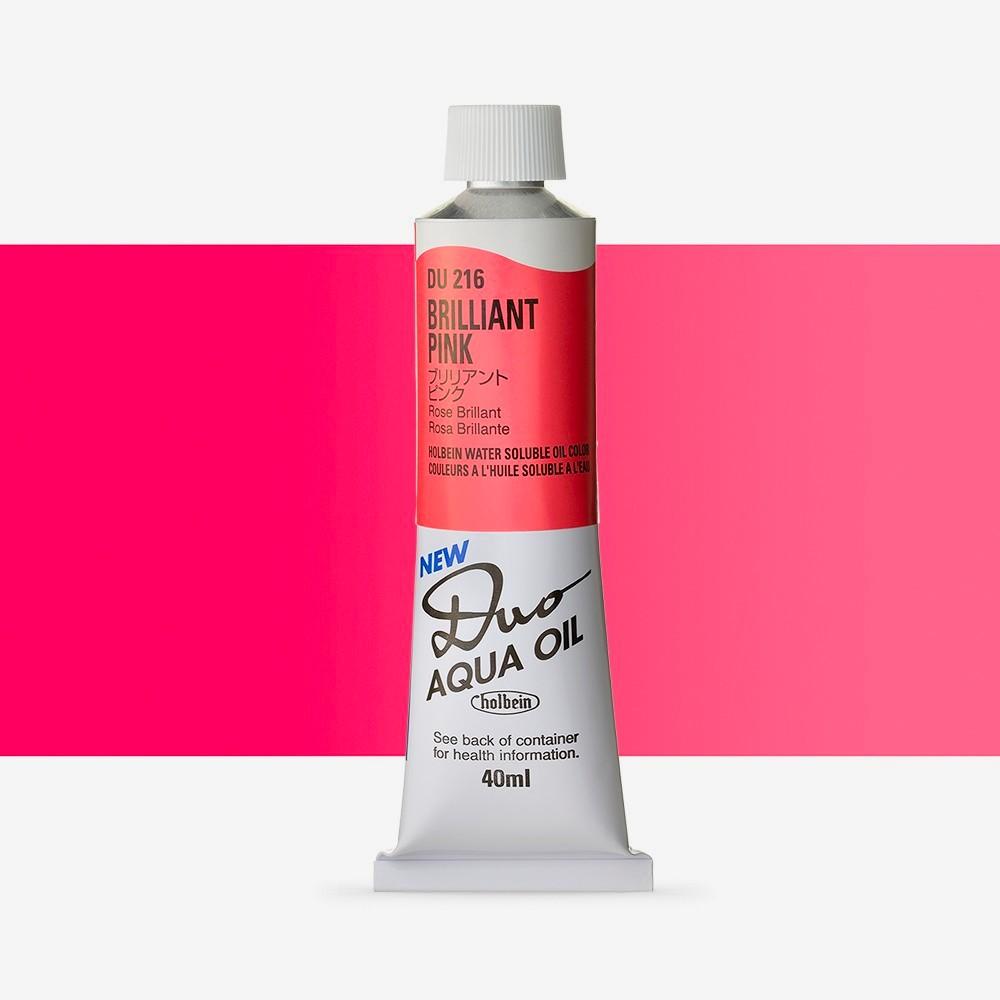 Holbein Duo-Aqua : Brilliant Pink : 40ml tube