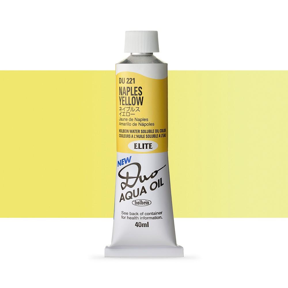 Holbein Duo-Aqua : Naples Yellow : 40ml tube