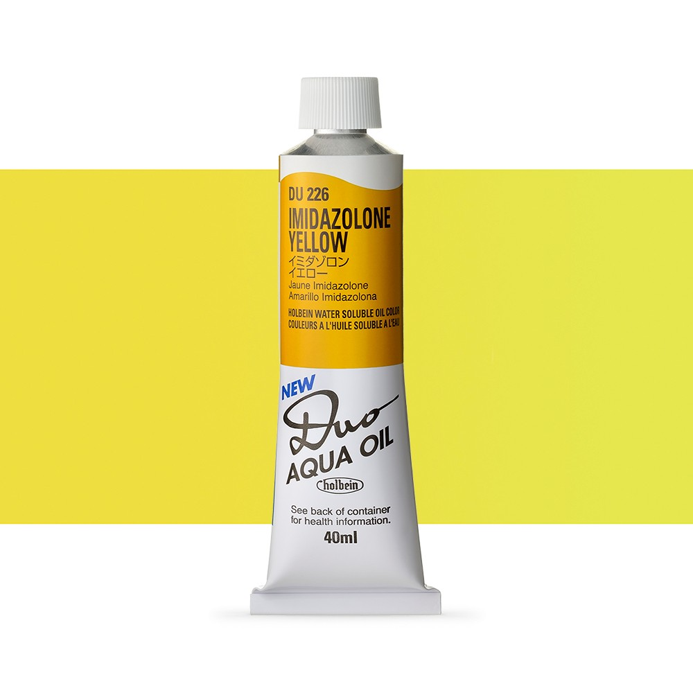 Holbein Duo-Aqua : Imidazolone Yellow : 40ml tube
