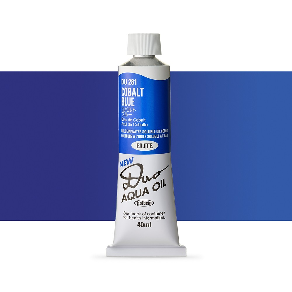 Holbein Duo-Aqua : Cobalt Blue : 40ml tube