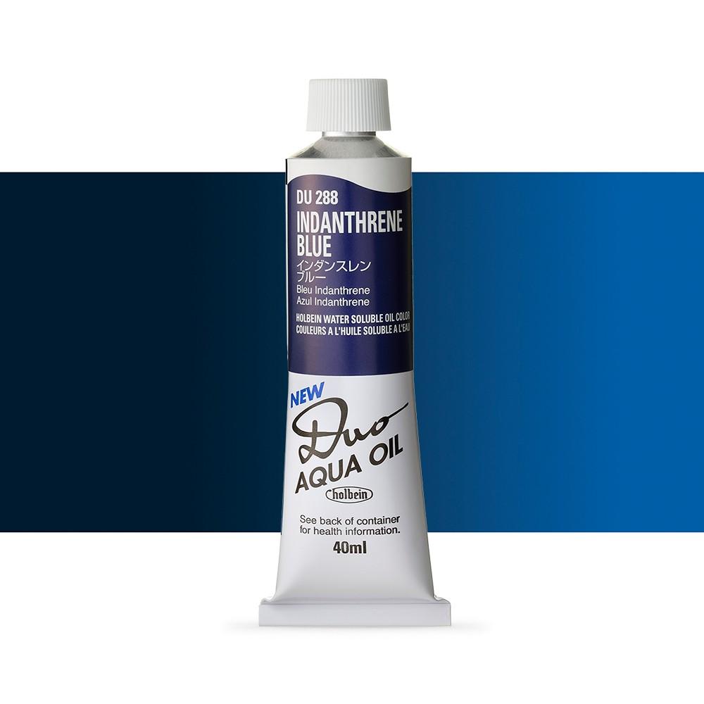Holbein Duo-Aqua : Indanthrene Blue : 40ml tube