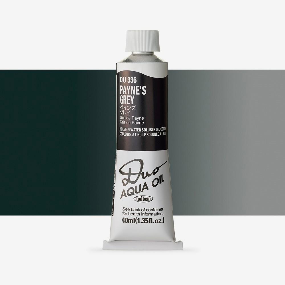Holbein Duo-Aqua : Paynes Grey : 40ml tube