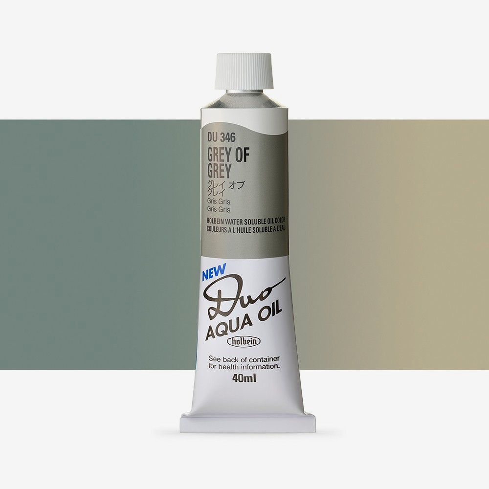 Holbein Duo-Aqua : Grey of Grey (monoV6) : 40ml tube