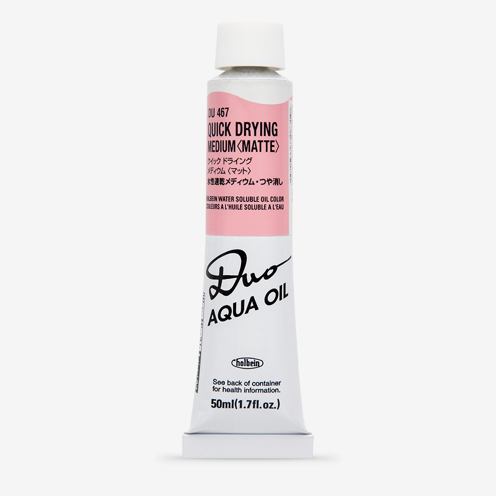 Holbein : Duo-Aqua : Quick Drying Medium : Matte : 50ml