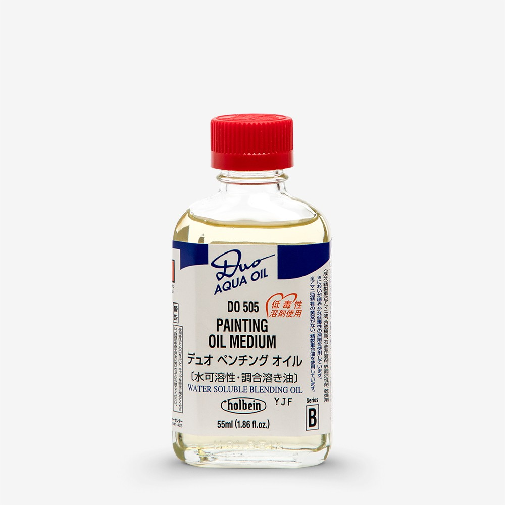 Holbein : Duo-Aqua : Painting Oil Medium : 55ml : By Road Parcel Only