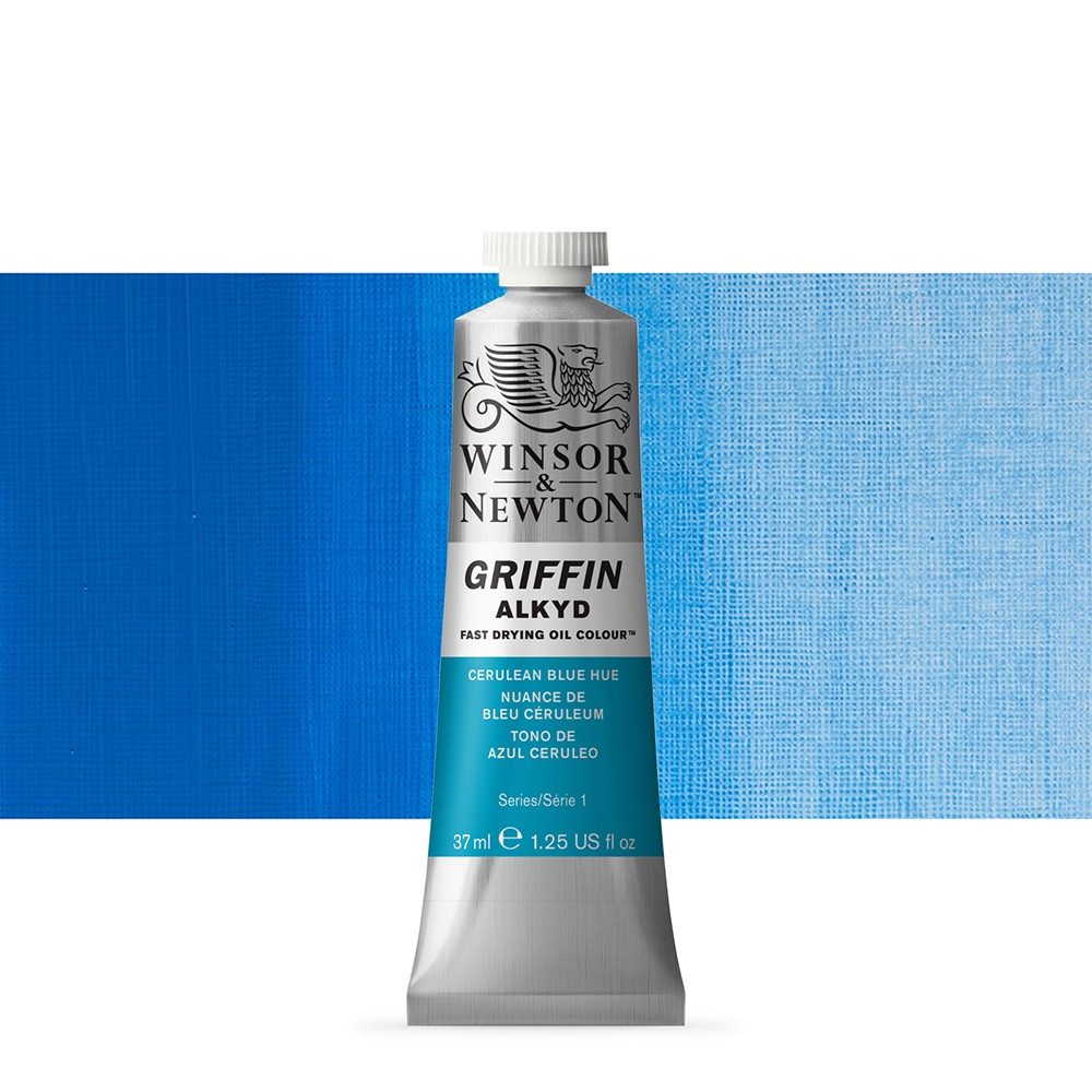 Griffin Alkyd Oil Paint : 37ml : Cerulean Blue Hue