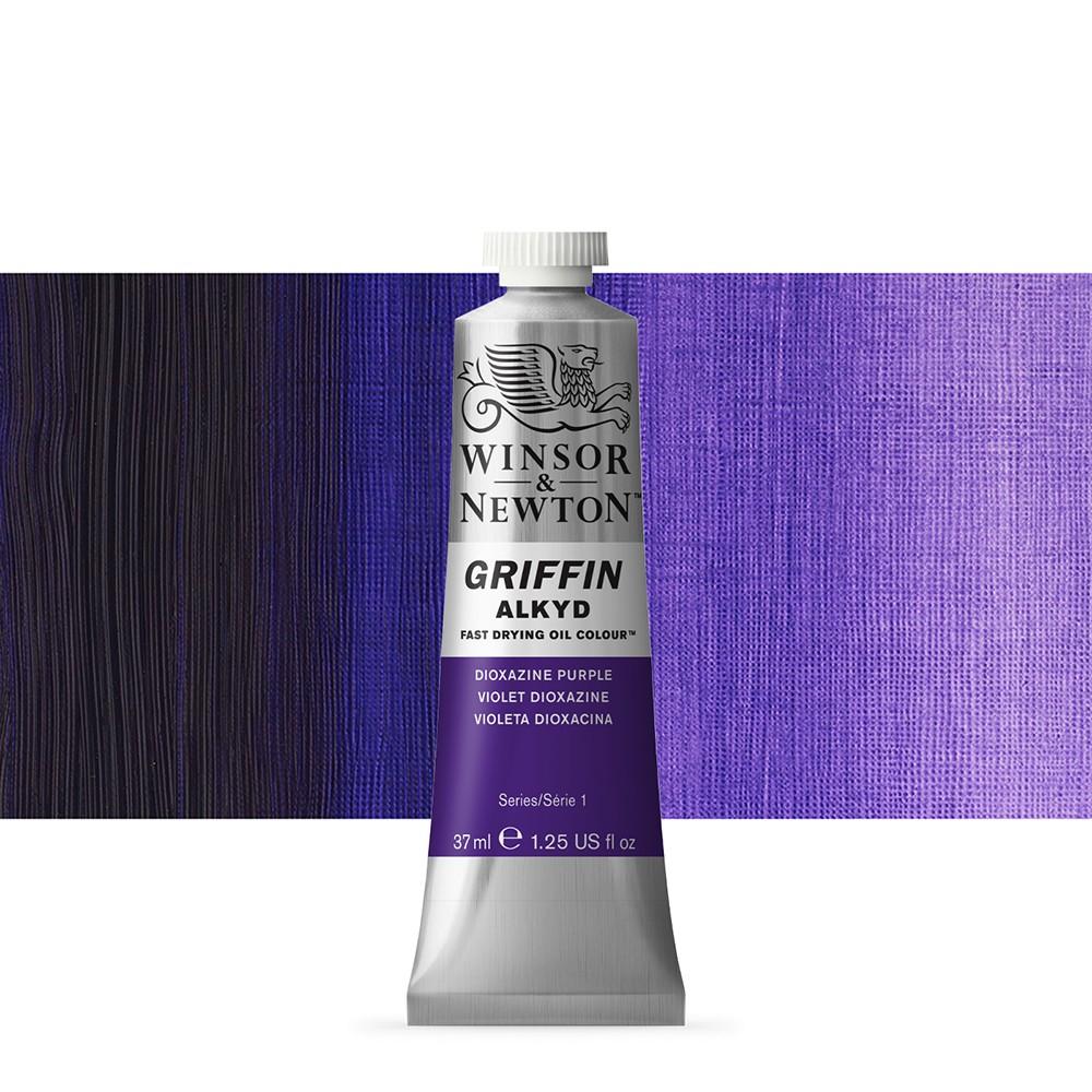 Griffin Alkyd Oil Paint : 37ml : Dioxazine Purple