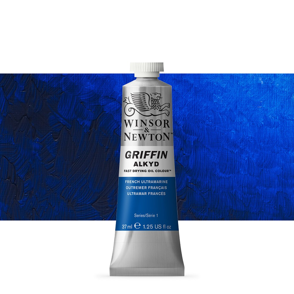 Griffin Alkyd Oil Paint : 37ml : French Ultramarine