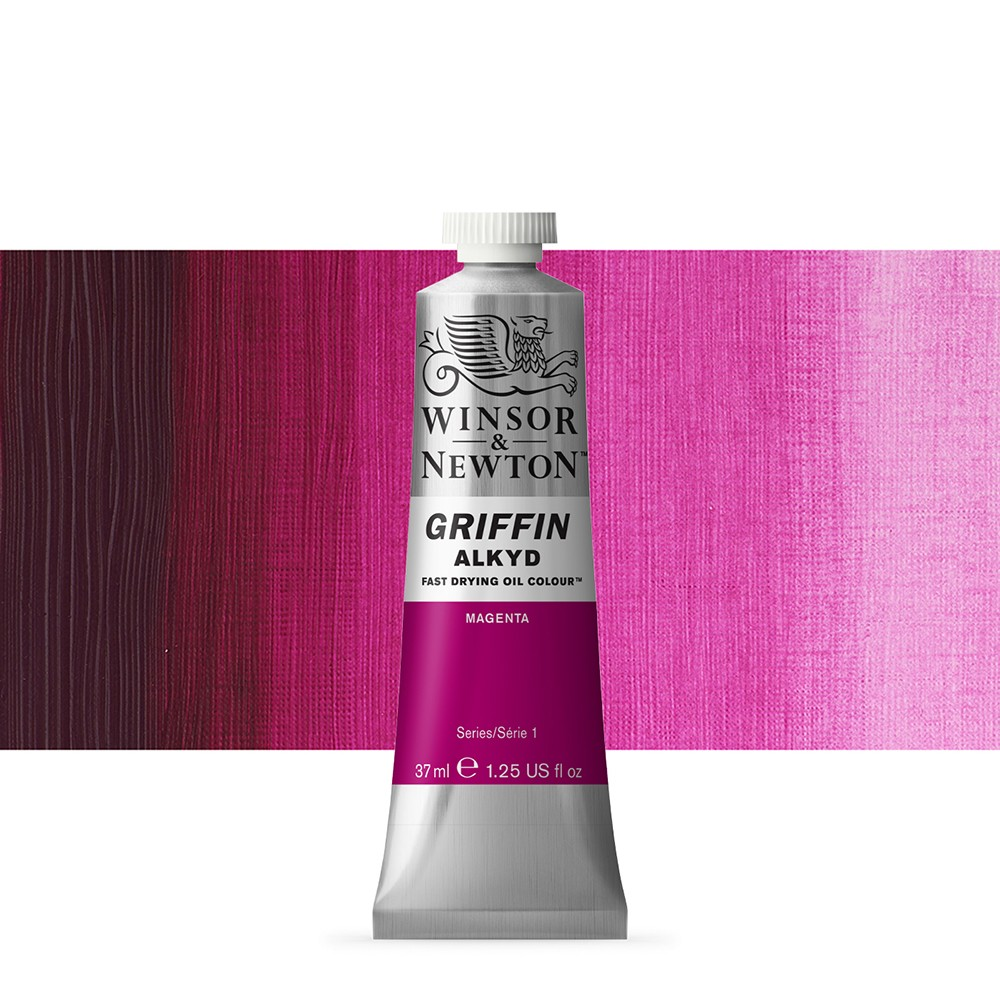 Griffin Alkyd Oil Paint : 37ml : Magenta