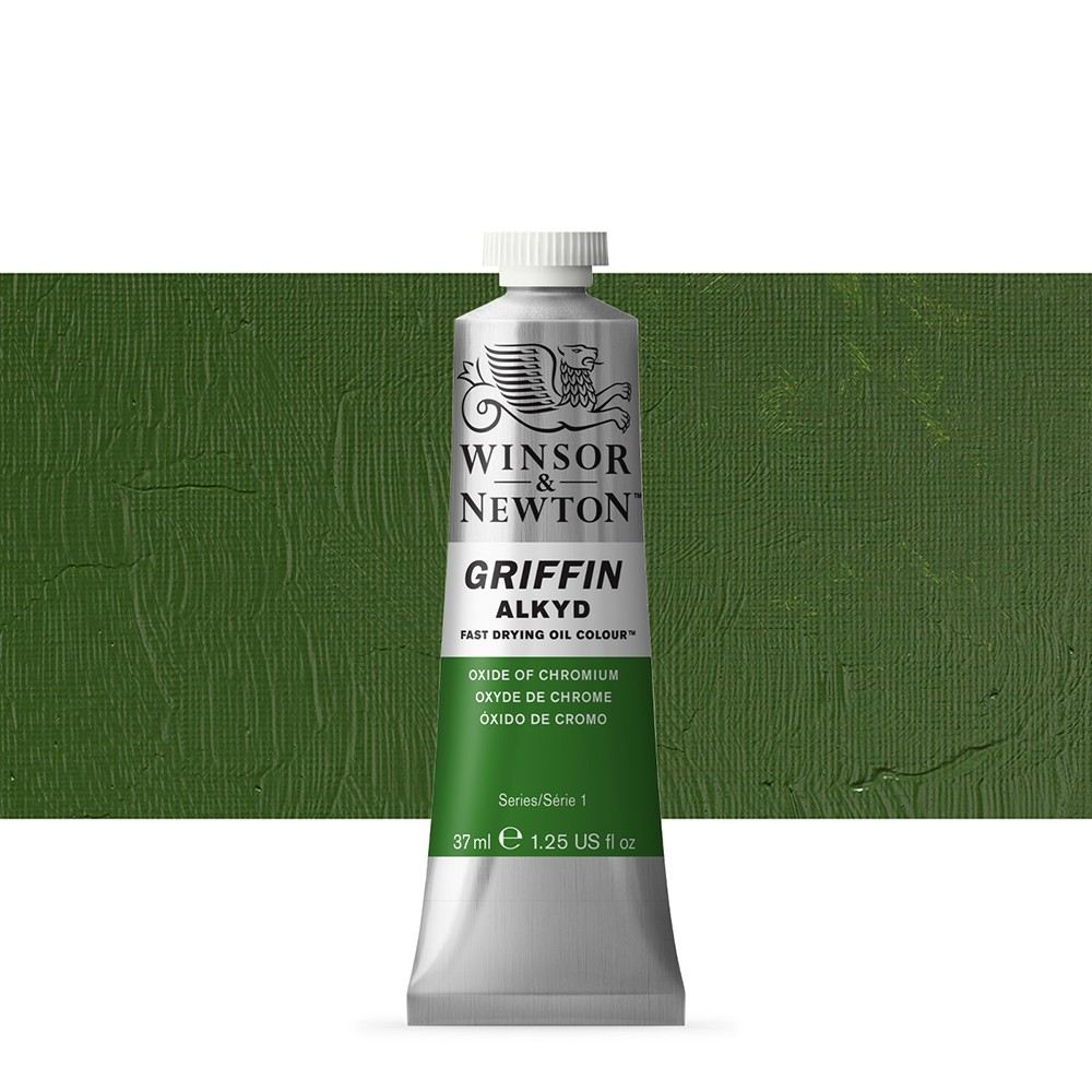 Griffin Alkyd Oil Paint : 37ml : Oxide Of Chromium