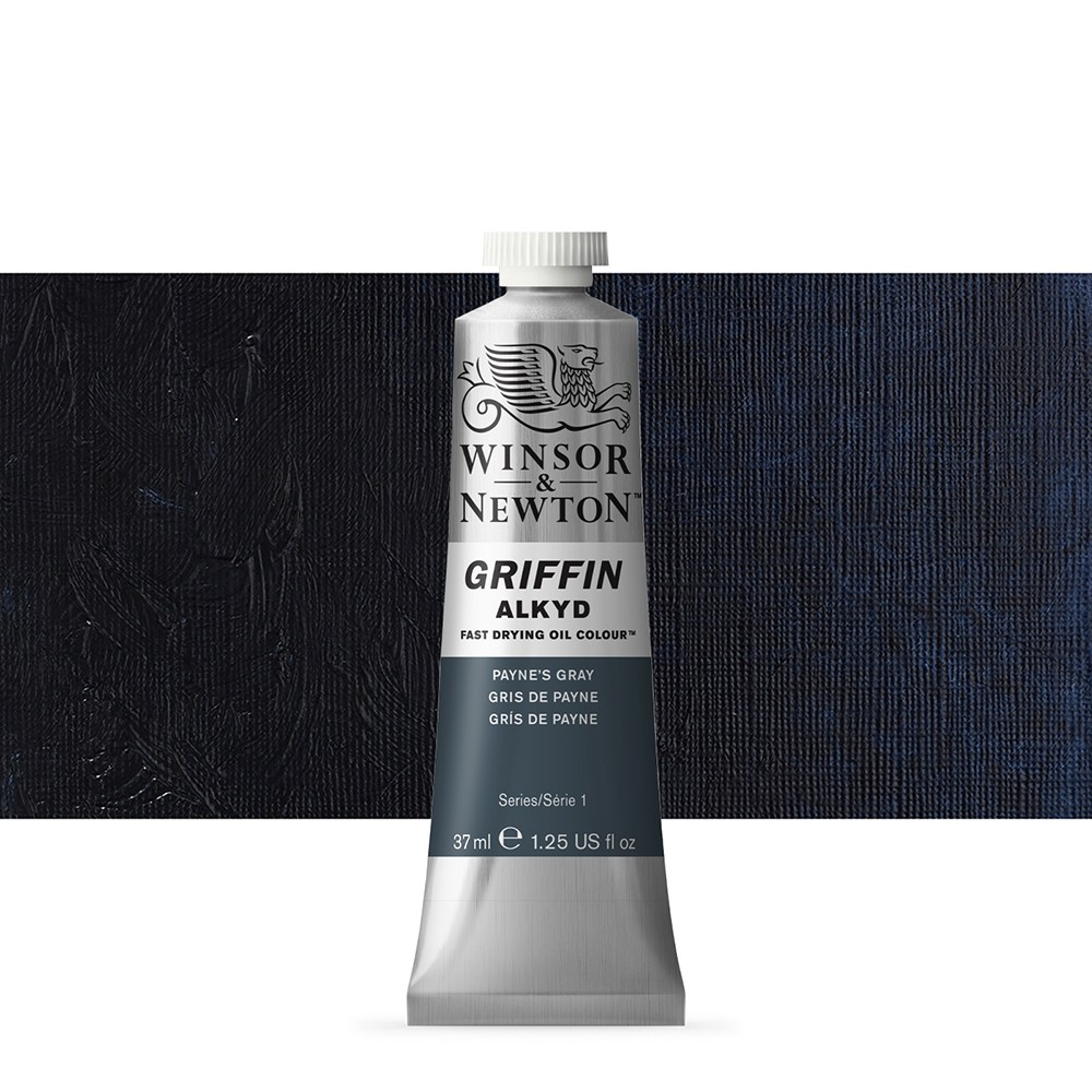 Griffin Alkyd Oil Paint : 37ml : Paynes Gray