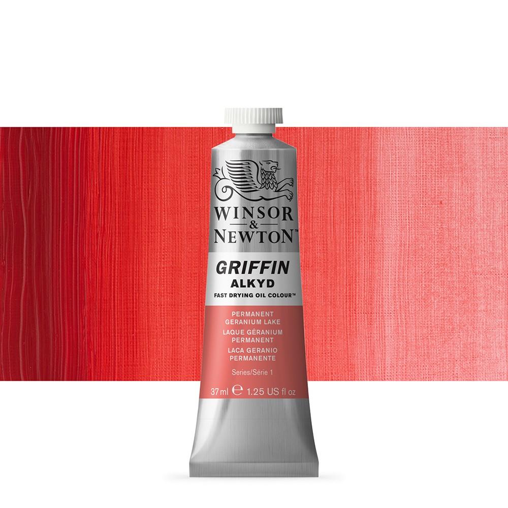 Griffin Alkyd Oil Paint : 37ml : Permanent Geranium Lake