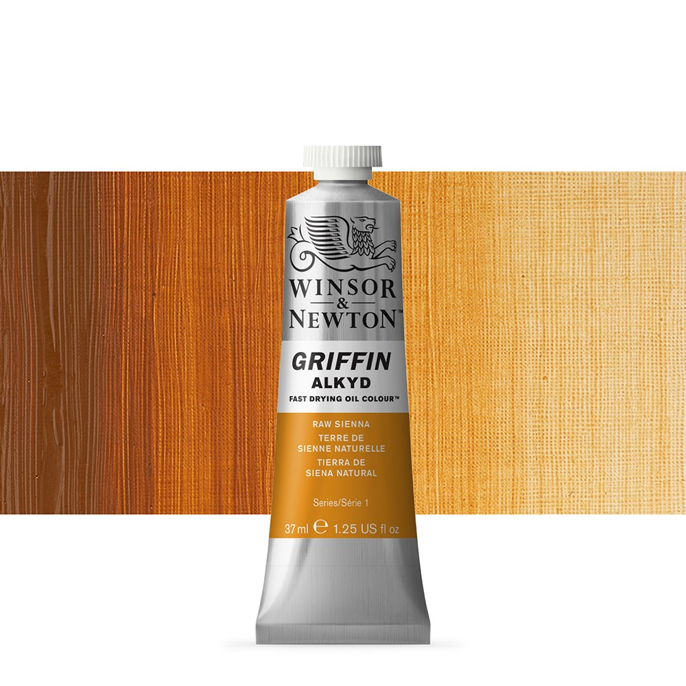 Griffin Alkyd Oil Paint : 37ml : Raw Sienna