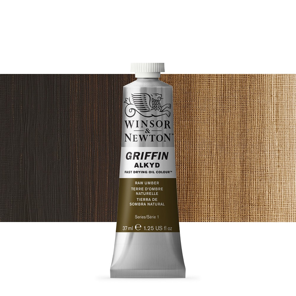 Griffin Alkyd Oil Paint : 37ml : Raw Umber