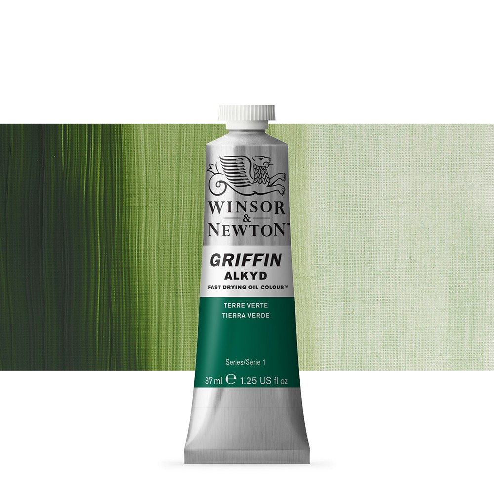 Griffin Alkyd Oil Paint : 37ml : Terre Verte