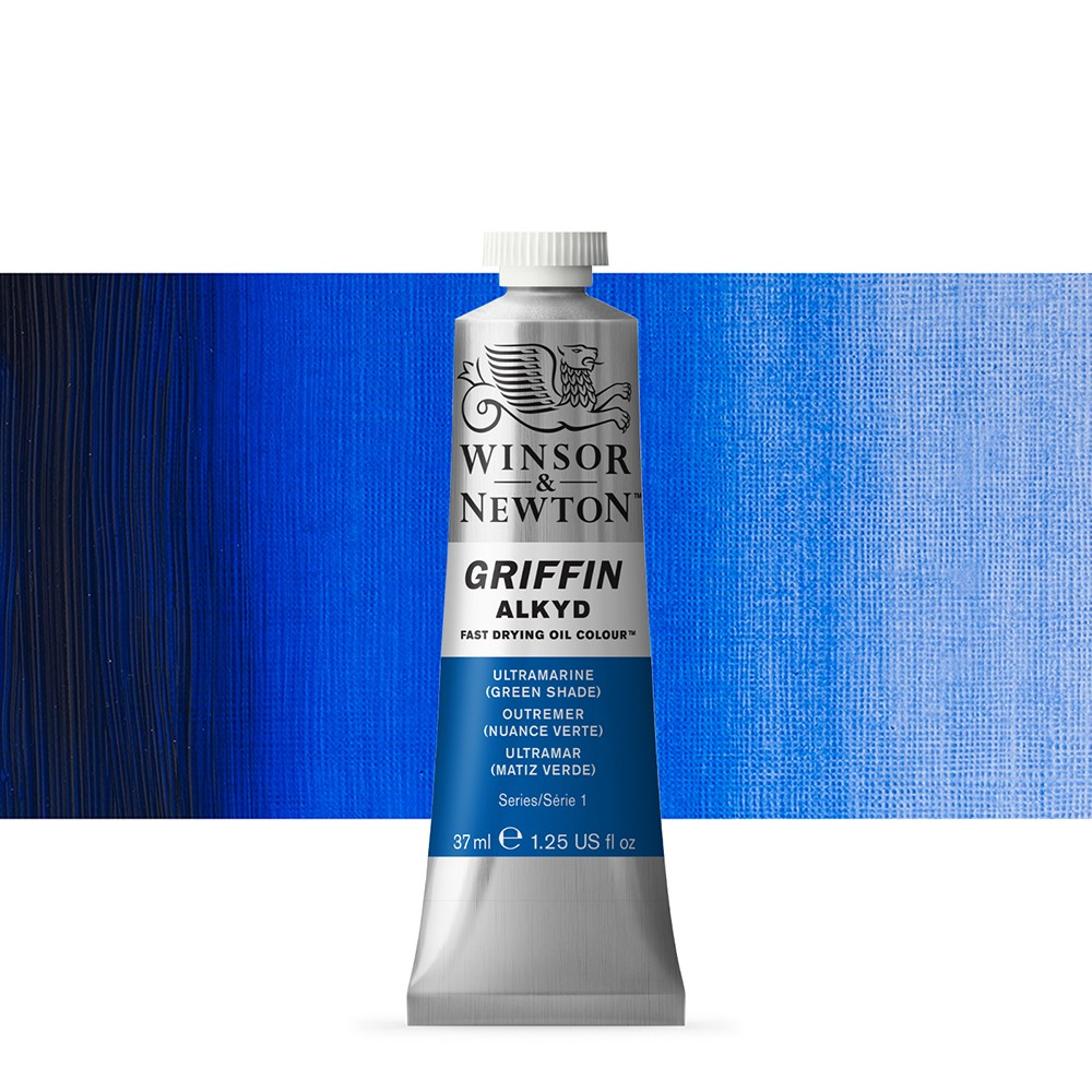 Griffin Alkyd Oil Paint : 37ml : Ultramarine (Green Shade)