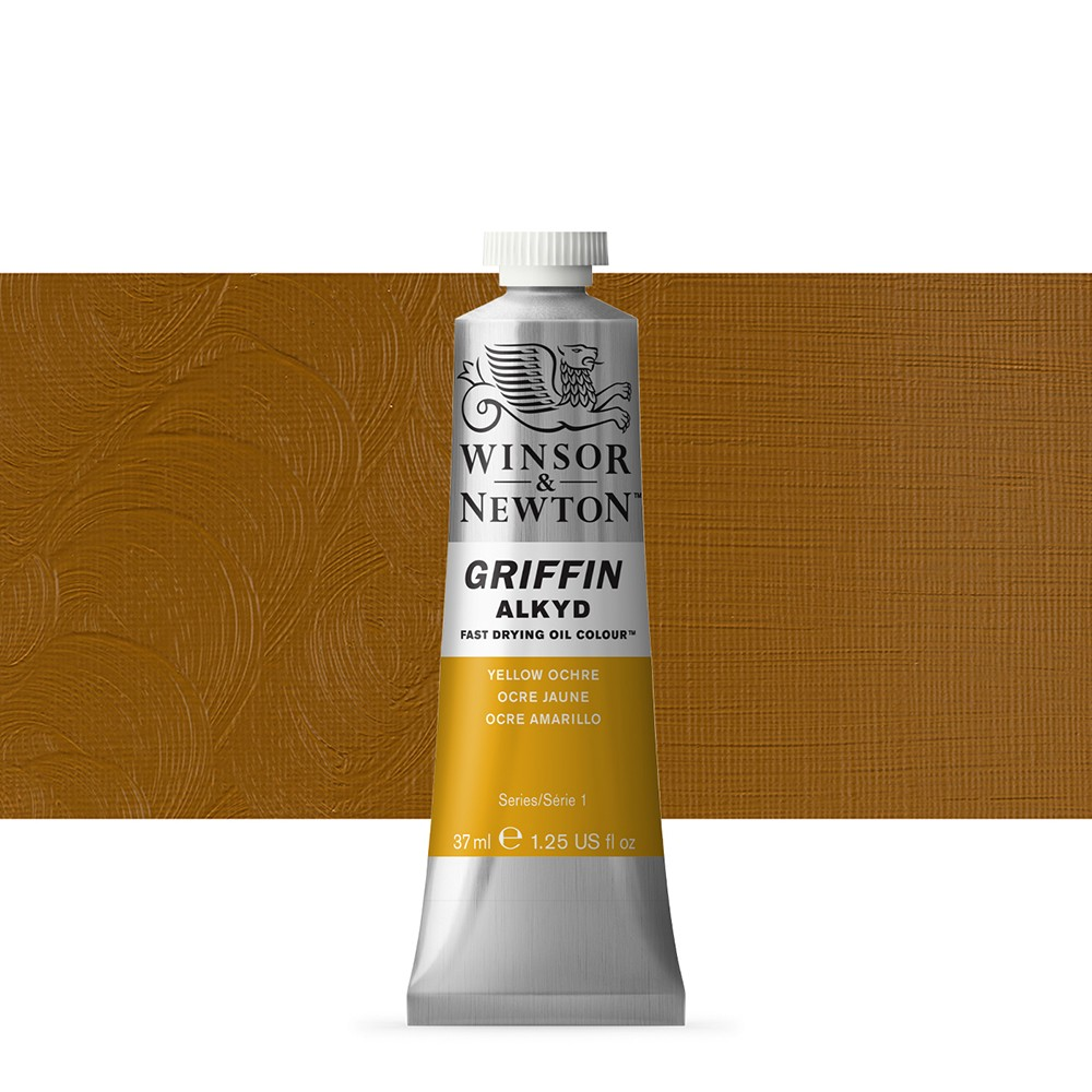 Griffin Alkyd Oil Paint : 37ml : Yellow Ochre
