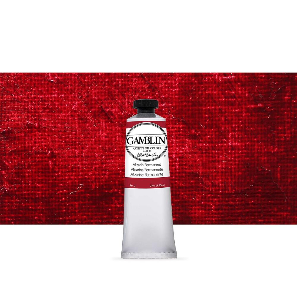 Gamblin : Artist Oil Paint : 37ml : Alizarin Permanent