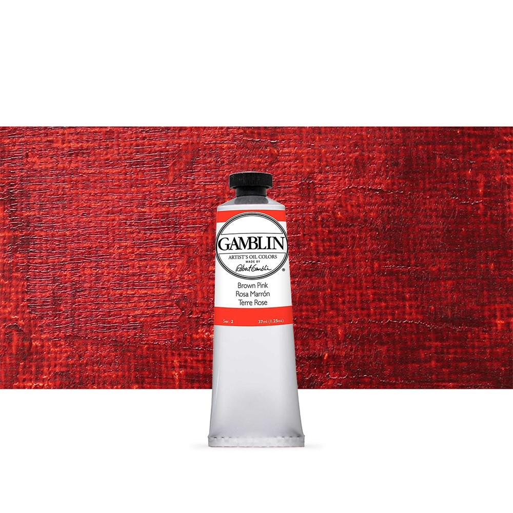 Gamblin : Artist Oil Paint 37ml : Brown Pink