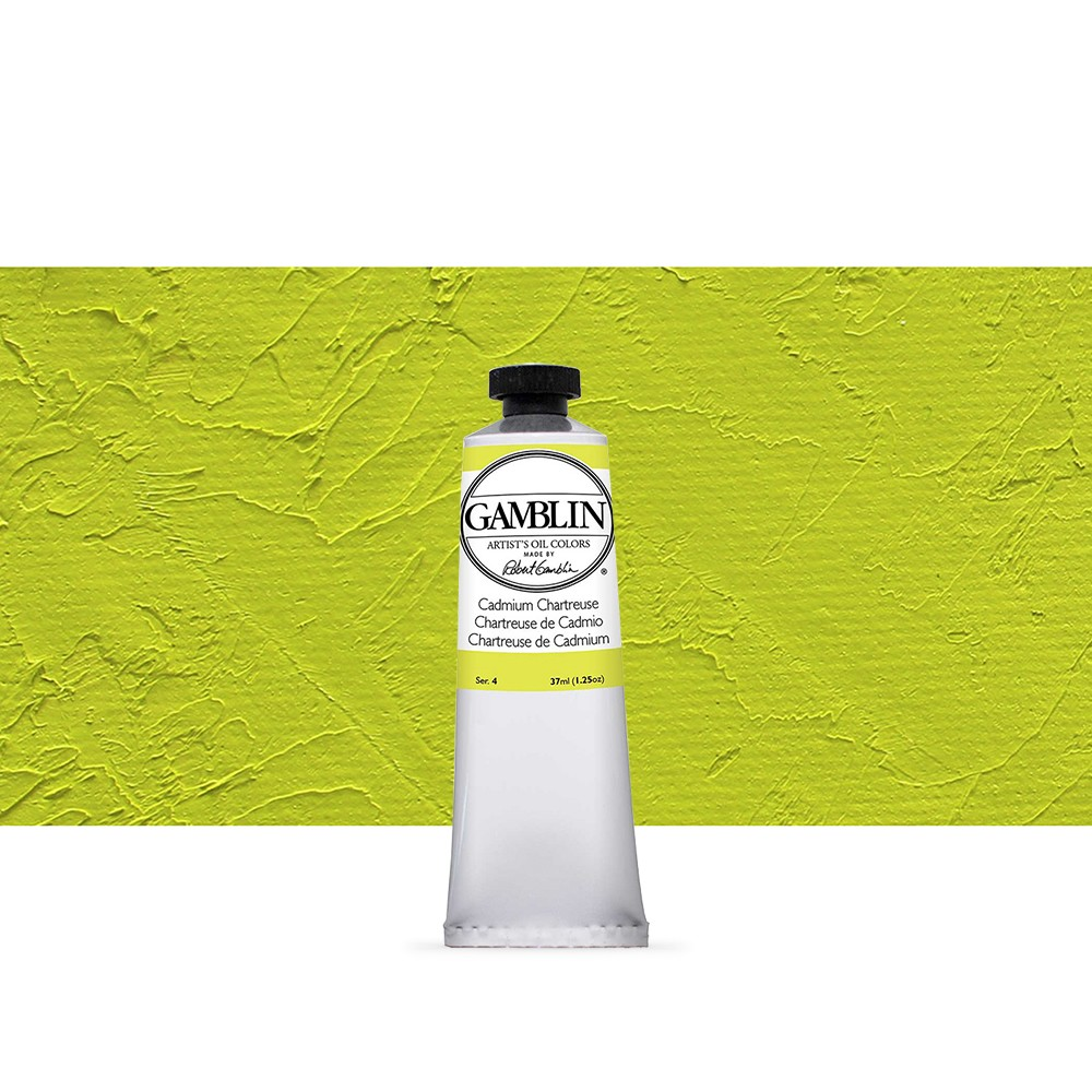 Gamblin : Artist Oil Paint : 37ml : Cadmium Chartreuse