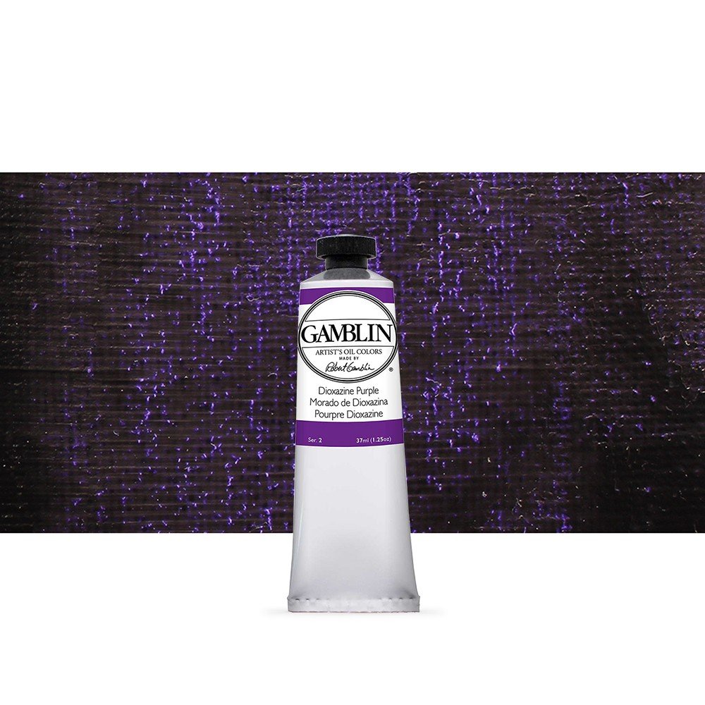 Gamblin : Artist Oil Paint : 37ml : Dioxazine Purple