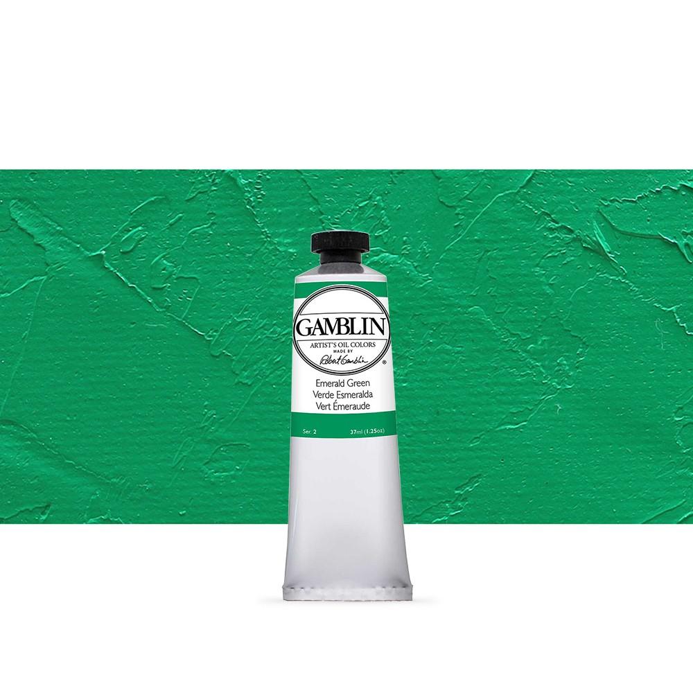 Gamblin : Artist Oil Paint 37ml : Emerald Green