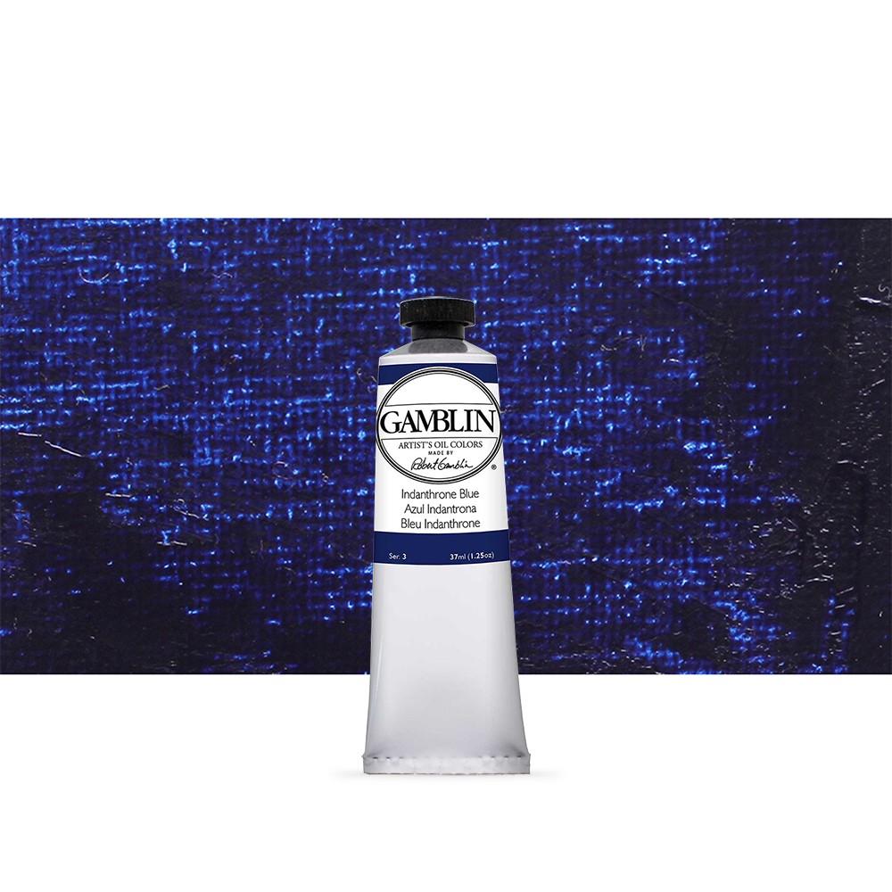 Gamblin : Artist Oil Paint : 37ml : Indanthrone Blue