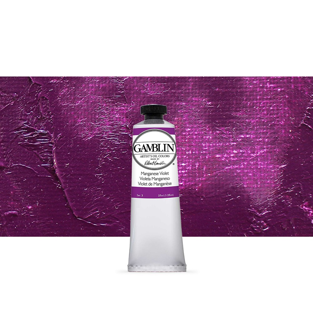 Gamblin : Artist Oil Paint : 37ml : Manganese Violet
