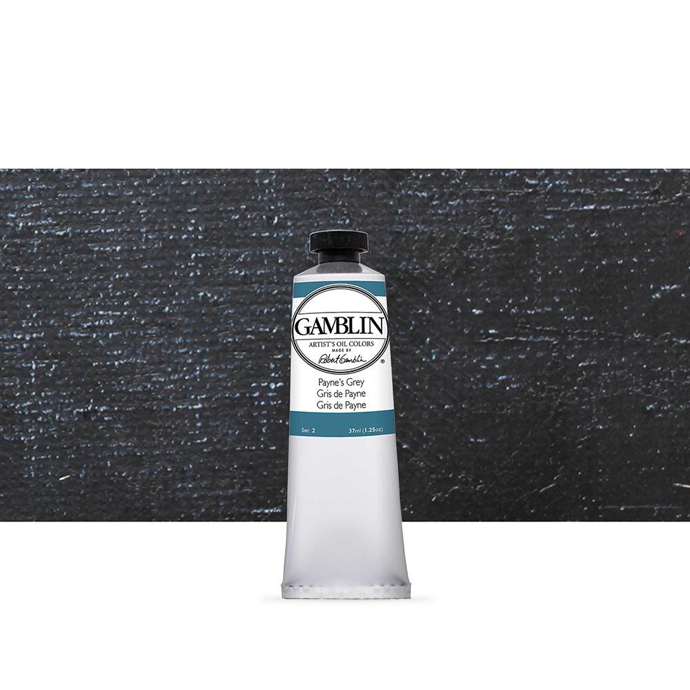 Gamblin : Artist Oil Paint : 37ml : Paynes Grey