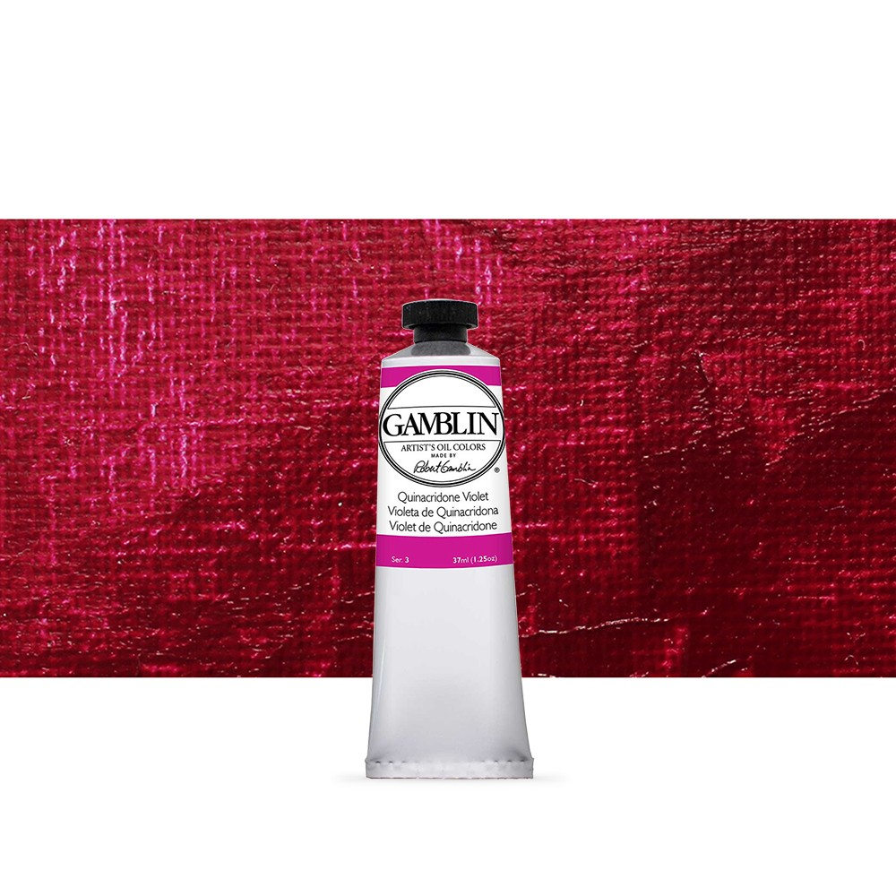 Gamblin : Artist Oil Paint : 37ml : Quinacridone Violet