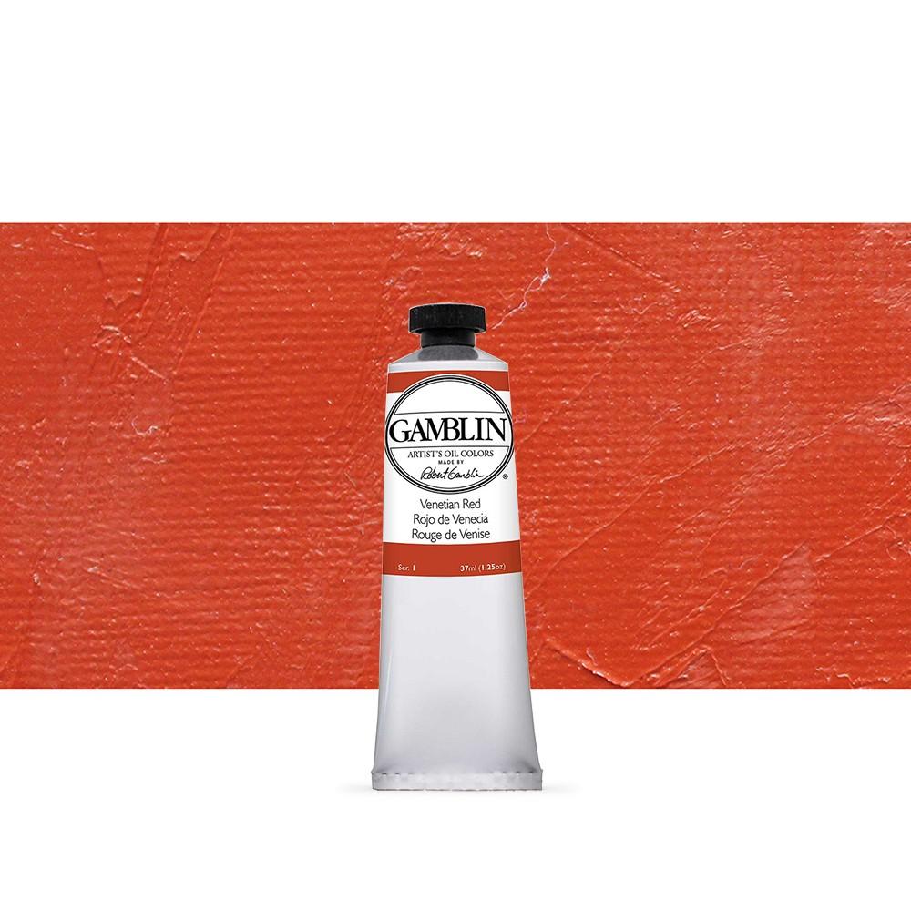 Gamblin : Artist Oil Paint 37ml : Venetian Red