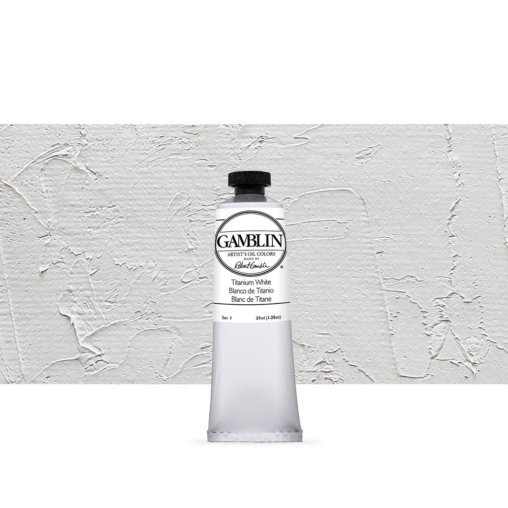 Gamblin : Artist Oil Paint : 37ml : Titanium White