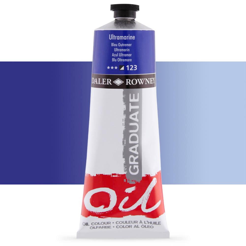 Daler Rowney : Graduate Oil Paint : 200ml : Ultramarine