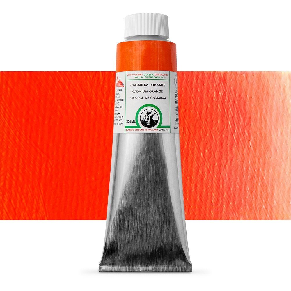 Old Holland : Classic Oil : 225ml Cadmium Orange