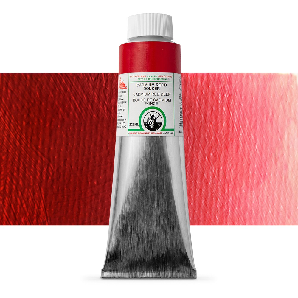 Old Holland : Classic Oil : 225ml Cadmium Red Deep