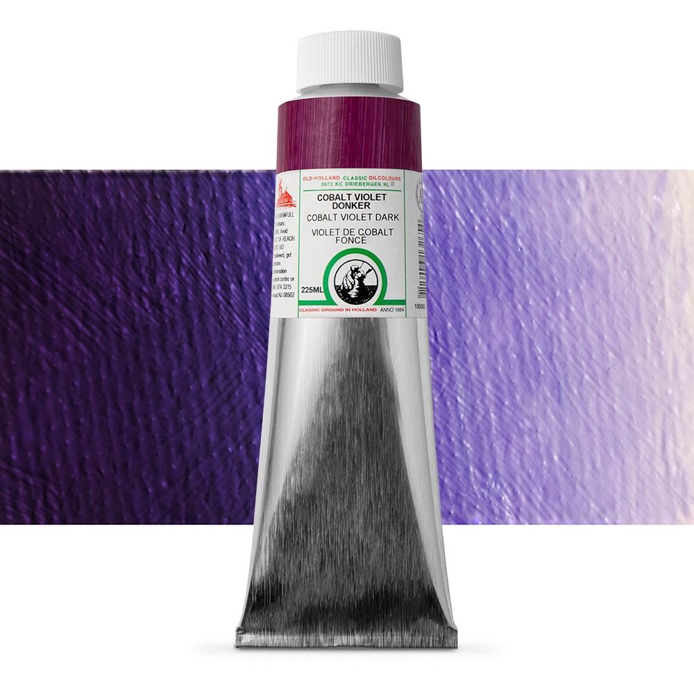 Old Holland : Classic Oil : 225ml Cobalt Violet Dark