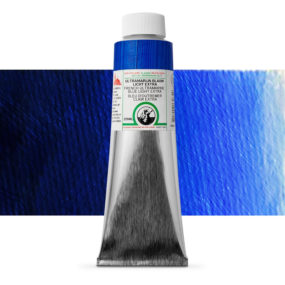 Old Holland : Classic Oil : 225ml French Ultramarine Light Ext