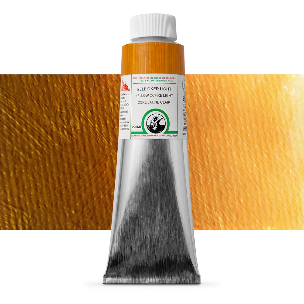 Old Holland : Classic Oil : 225ml Yellow Ochre Light