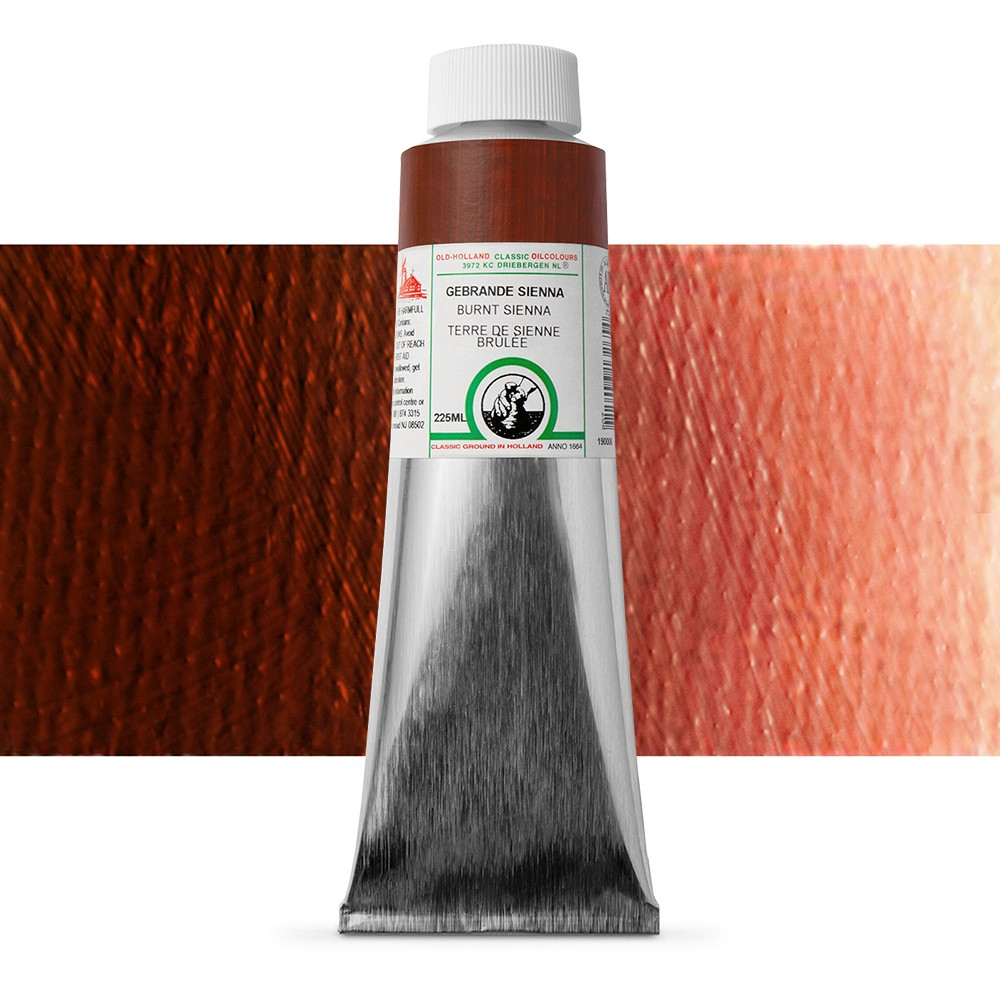 Old Holland : Classic Oil : 225ml Burnt Sienna