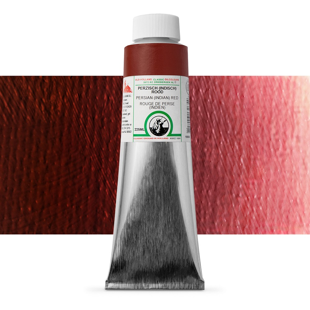 Old Holland : Classic Oil : 225ml Persian (Indian) Red
